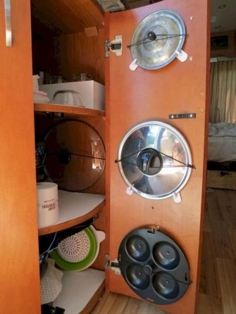 Best Rv Storage Hack Organization Inspiration Ideas 34