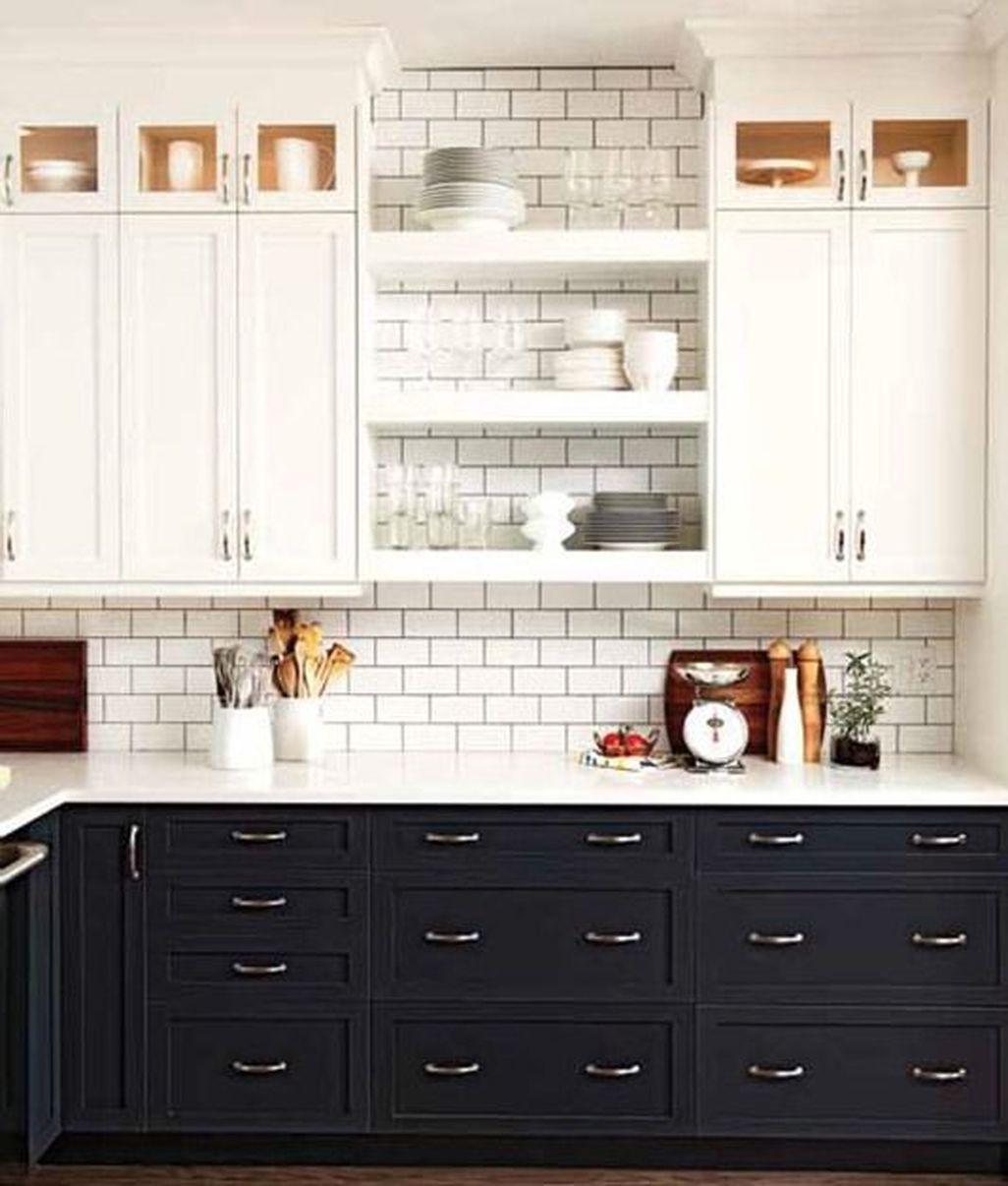 Best White Kitchen Cabinet Design Ideas 01