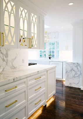 Best White Kitchen Cabinet Design Ideas 09