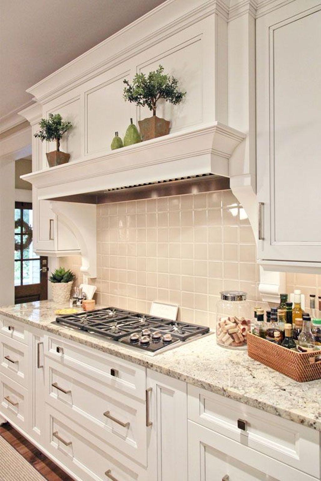 Best White Kitchen Cabinet Design Ideas 12
