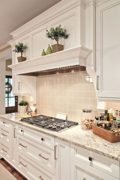 Best White Kitchen Cabinet Design Ideas 12