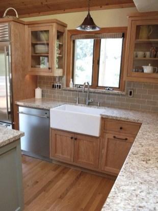Best White Kitchen Cabinet Design Ideas 40