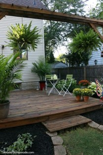 Cozy Backyard Patio Deck Design Decoration Ideas 02