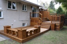 Cozy Backyard Patio Deck Design Decoration Ideas 08