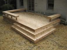 Cozy Backyard Patio Deck Design Decoration Ideas 10