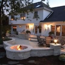 Cozy Backyard Patio Deck Design Decoration Ideas