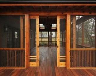 Cozy Backyard Patio Deck Design Decoration Ideas 33