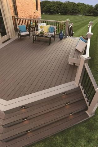 Cozy Backyard Patio Deck Design Decoration Ideas 35