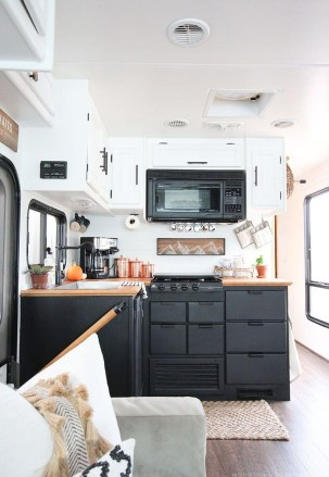 Creative Small Rv Kitchen Design Ideas 22