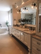 Fresh Rustic Farmhouse Master Bathroom Remodel Ideas 14