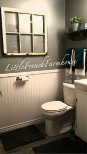 Fresh Rustic Farmhouse Master Bathroom Remodel Ideas 28