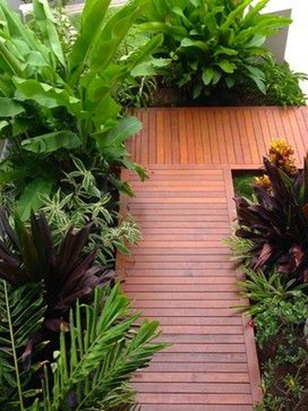 Stunning Front Yard Walkway Landscaping Design Ideas 27