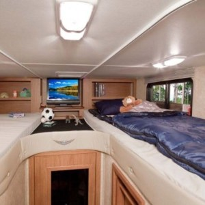 Totally Comfy Rv Bed Remodel Design Ideas 16