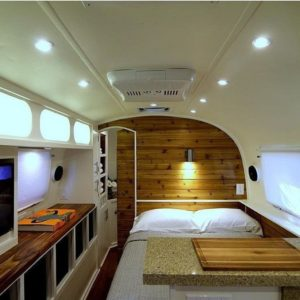 Totally Comfy Rv Bed Remodel Design Ideas 28