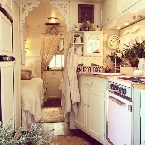 Totally Inspiring Rv Bathroom Remodel Organization Ideas 37