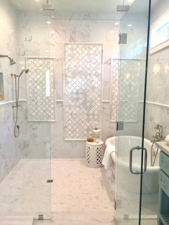 10 Beautiful Modern Tile Shower Ideas For Small Bathrooms