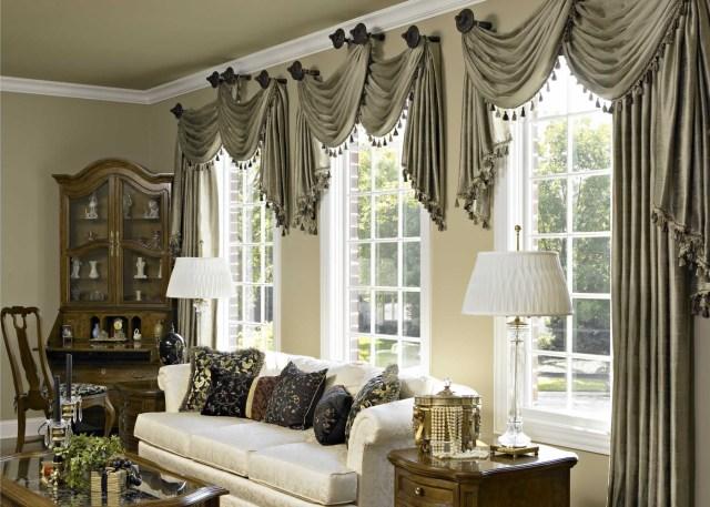 10 Curtain Ideas For An Elegant Living Room