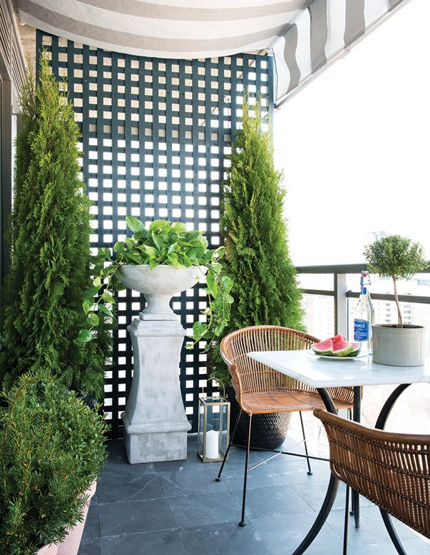 10 Gorgeous Outdoor Spaces On Hh Tv Balcony Furniture