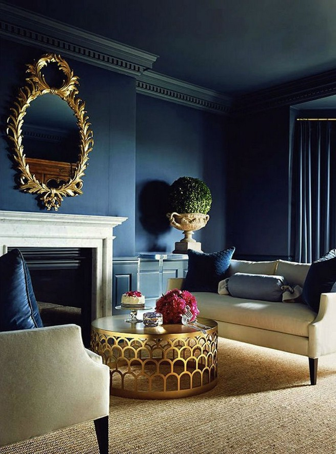 10 Lavish Blue Living Rooms To Inspire You Miami Design