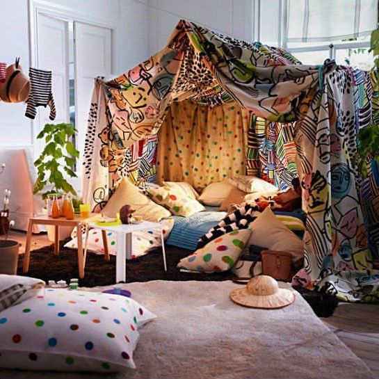 10 Sleepover Set Ups Party