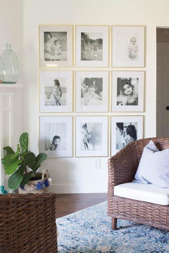 10 Stylish And Creative Ways To Display Family Photos