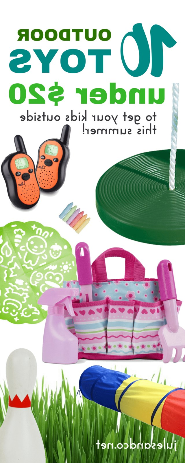 10 Summer Outdoor Toys Under 20 To Get Your Kids Outside
