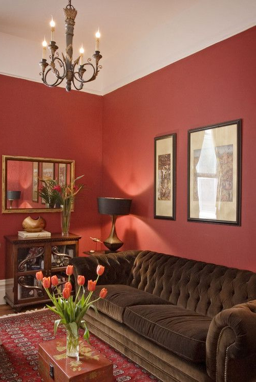 100 Best Red Living Rooms Interior Design Ideas Living