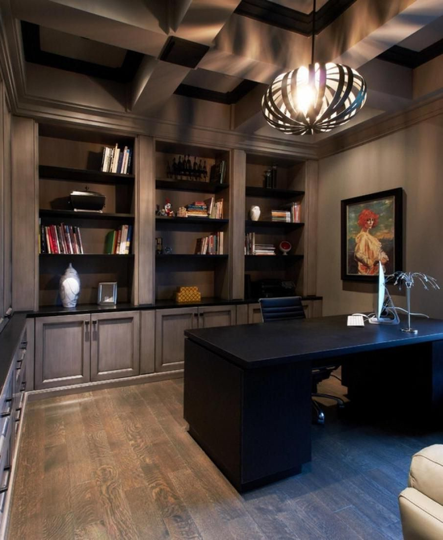 11 Cool Home Office Ideas For Men Home Office Design