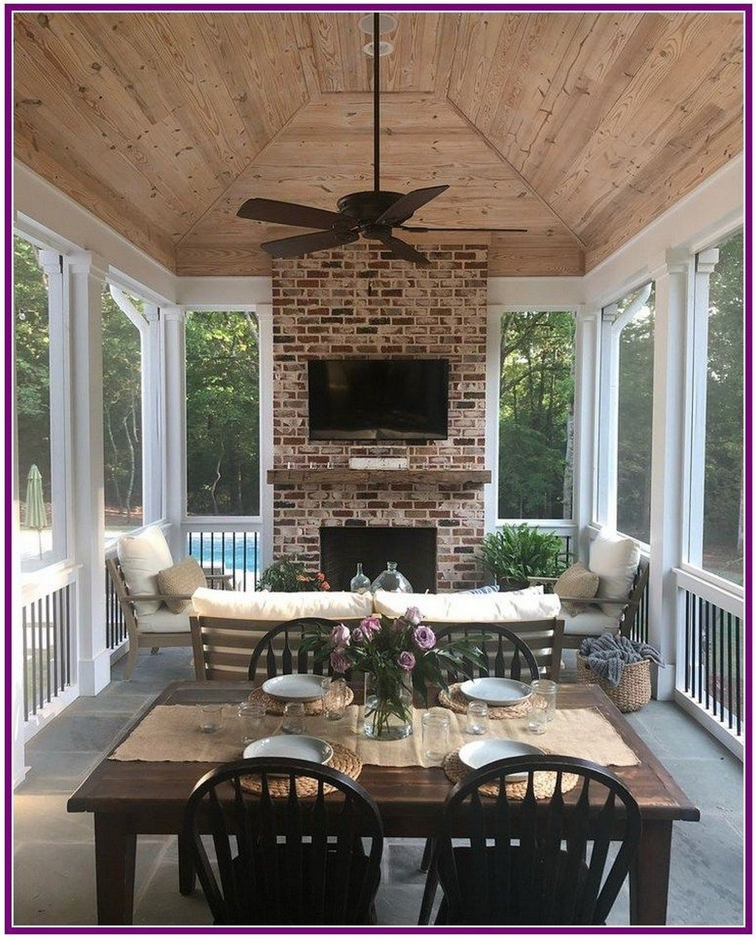 11 Exhilaratingly Beautiful Outdoor Living Room Ideas On A