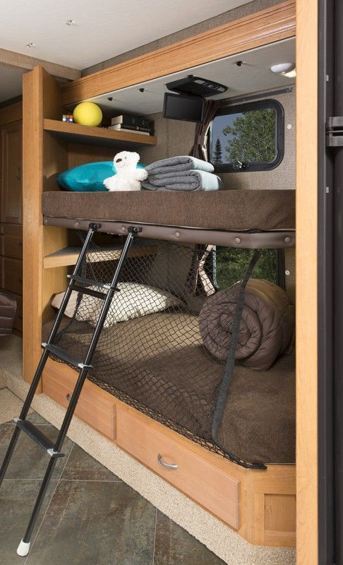12 Must See Bunkhouse Rv Floorplans Rv Bunk Beds