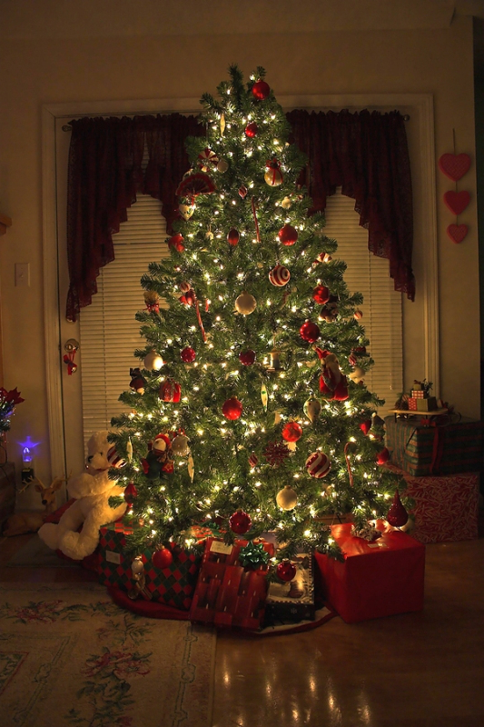 125 Most Beautiful Christmas Tree Decorations Ideas