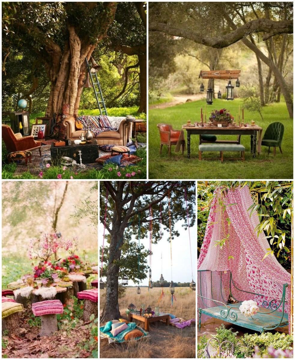 14 Bohemian Style Gardens 1001 Gardens