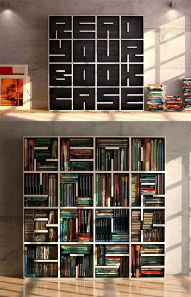 15 Attractive Minimalist Bookshelve Bookshelf Design