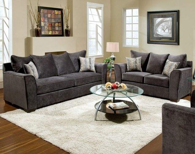 15 Collection Of Charcoal Grey Sofa Sofa Ideas