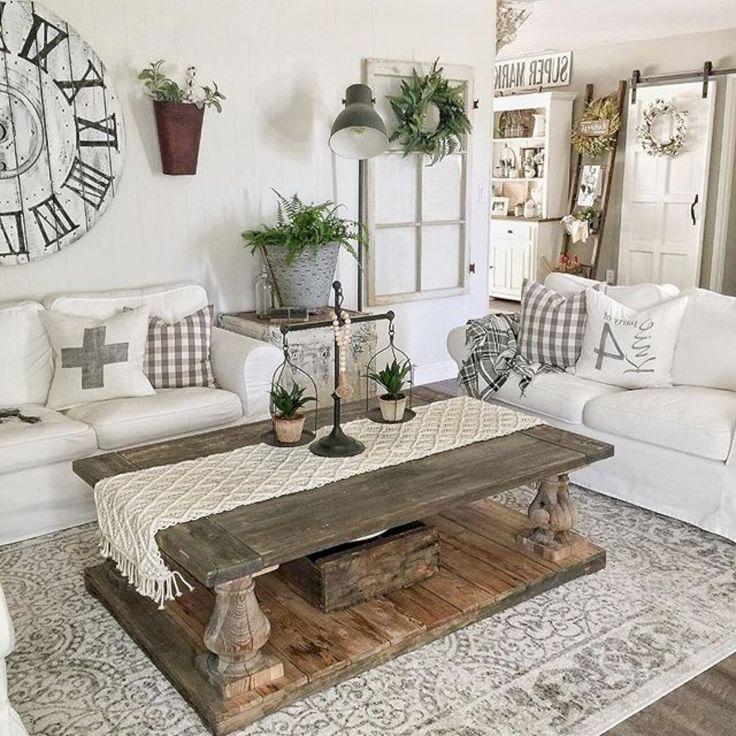 15 Cozy Rustic Living Room Decor Ideas Farmhouse Decor