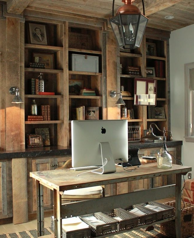 15 Creative Rustic Home Office Designs Home Office