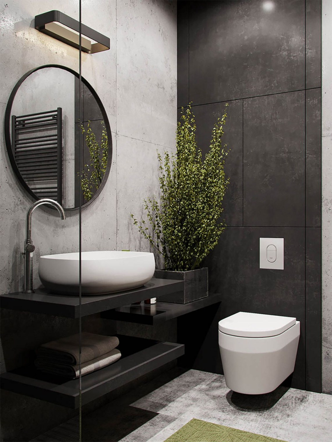 15 Gorgeous Industrial Bathroom Decoration Ideas The Most