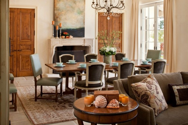15 Magnificent Mediterranean Dining Room Designs Made Of