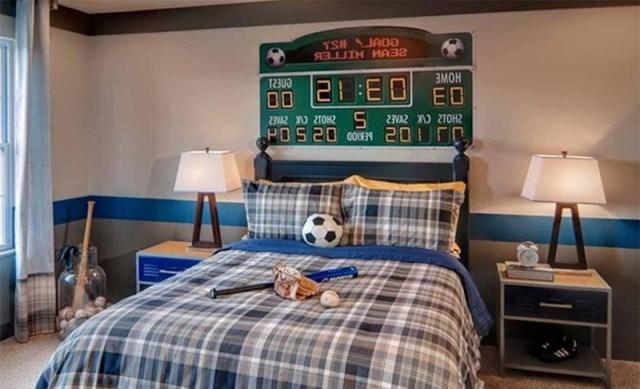 15 Sports Inspired Bedroom Ideas For Boys Rilane