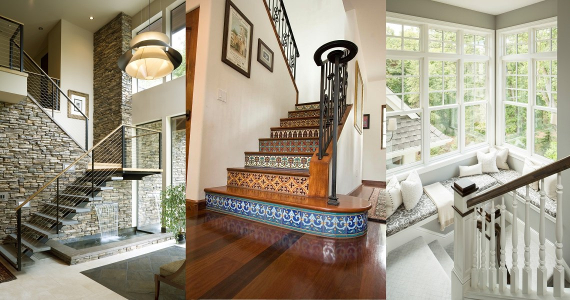 15 Stair Design Ideas For Unique Creative Home