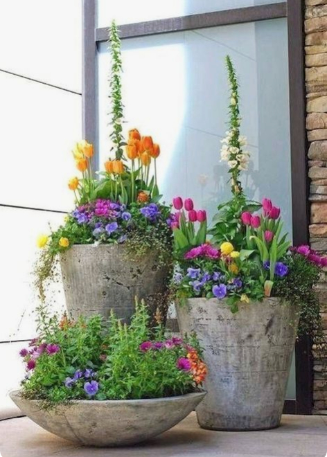 15 Unique And Beautiful Container Garden Ideas In 2020