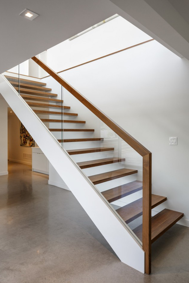 16 Breathtaking Modern Staircase Designs Are The Daily