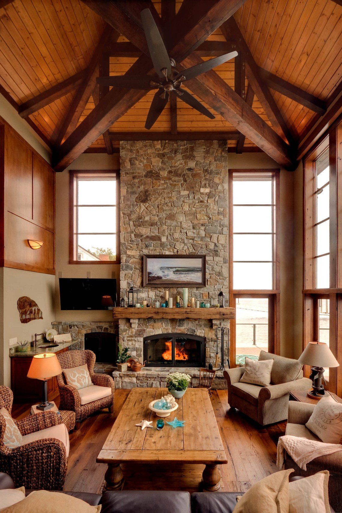 16 Sophisticated Rustic Living Room Designs You Wont Turn