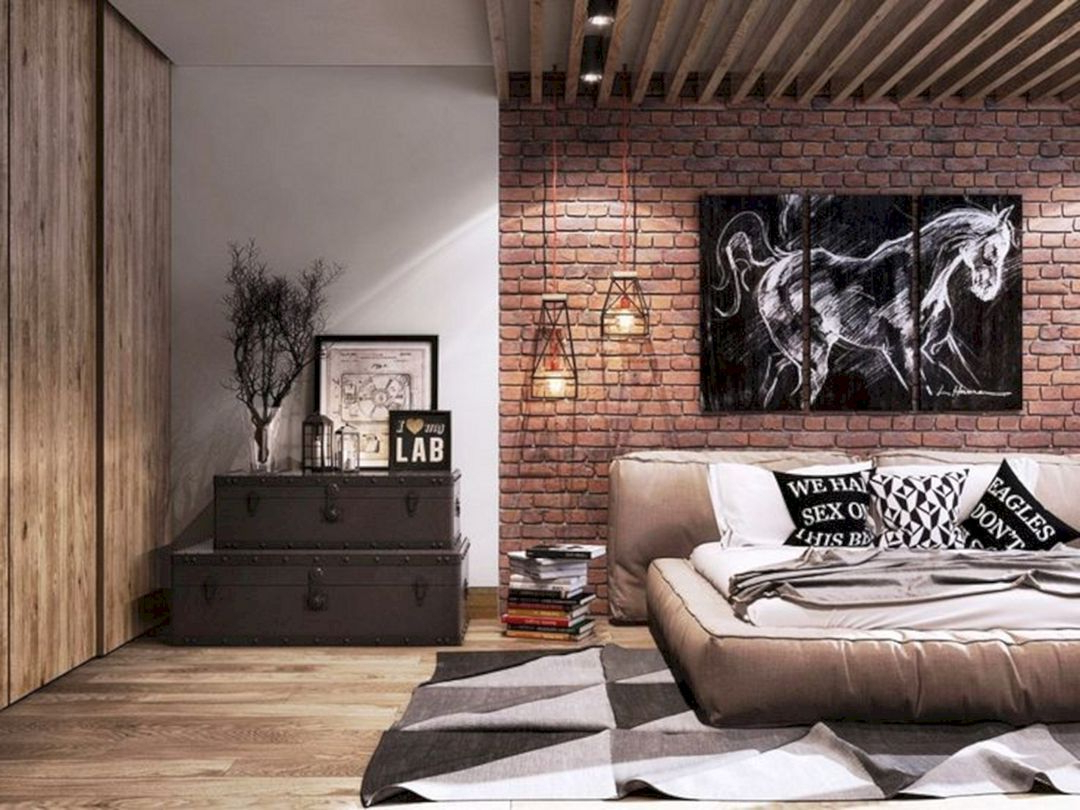 17 Best Industrial Bedroom Design Ideas For To Make
