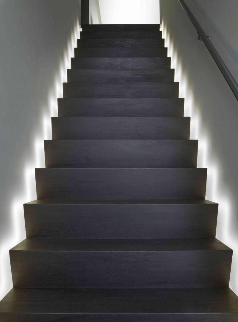 17 Light Stairs Ideas You Can Start Using Today Stairway Lighting Led Stair Lights Stair
