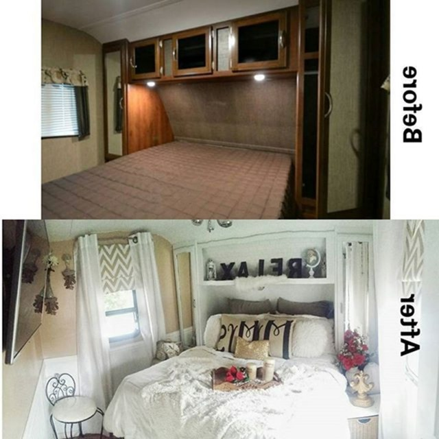 19 Top Rv Bedroom Remodel With Before And After Pictures