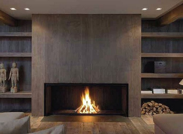 20 Amazing Modern Fireplace Design Ideas For House