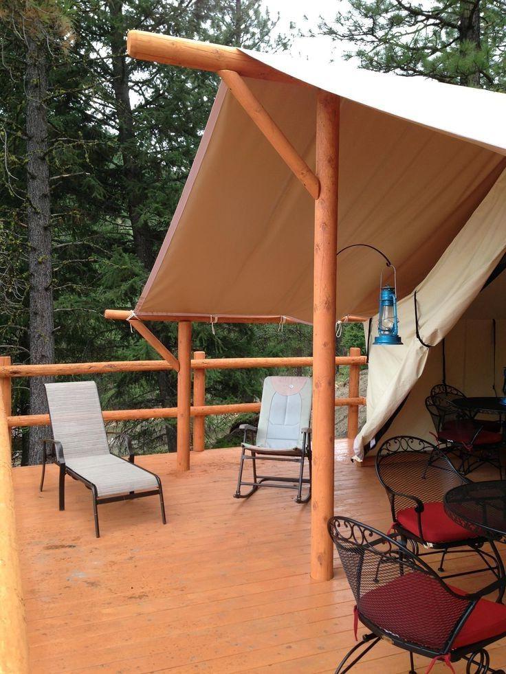 20 Amazing Tent Glamping Ideas Tent Platform Tent