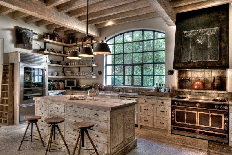 20 Beautiful Rustic Kitchen Designs