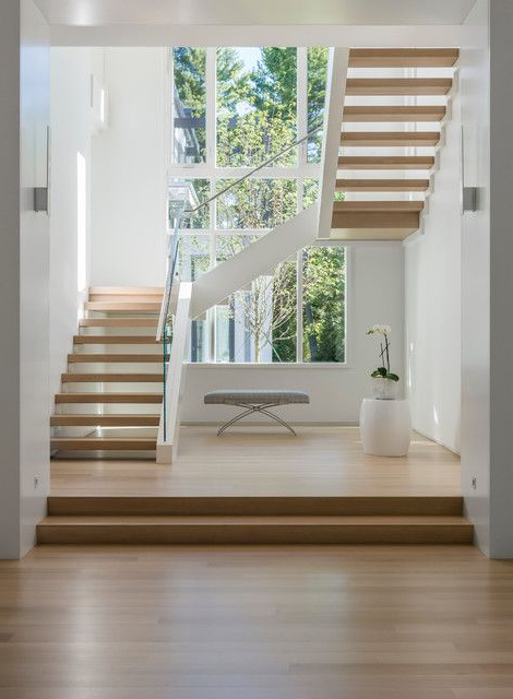 20 Elegant Modern Staircase Designs Youll Become Fond Of